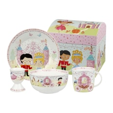 Churchill Little Rhymes - Cinderella 4 Piece Breakfast Set