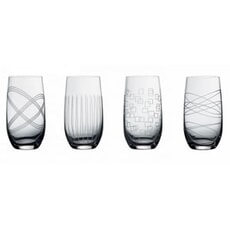 Royal Doulton Party Hi-ball Glass Set Of 4