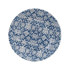 Queens Blue Story Ava Dinner Plate