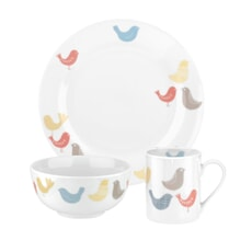 Portmeirion Catherine Lansfield - Scandi Birds 6 Piece Set