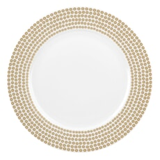 Portmeirion Catherine Lansfield - Glamour Sequin Gold Dinner Plate
