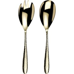 Arthur Price Monsoon Mirage Champagne Boxed Salad Servers