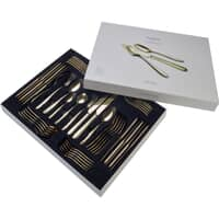 Arthur Price Monsoon Mirage Champagne 44 Piece Box Set