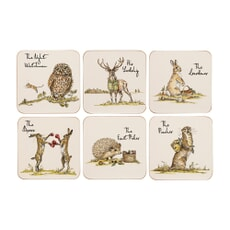 Country Pursuits - Coasters Set Of 6