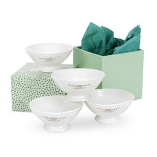 Portmeirion Sophie Conran - Mini Dishes Set Of 4 White