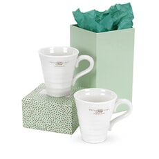Portmeirion Sophie Conran - Solo Mugs Set Of 2 White