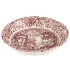 Spode Cranberry Italian - Cereal Bowl