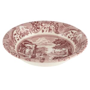 Spode Cranberry Italian - Ascot Cereal Bowl