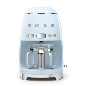 Smeg Drip Filter Coffee Machine Pastal Blue