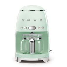 Smeg Drip Filter Coffee Machine Pastel Green