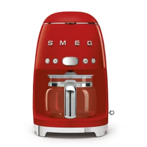 Smeg Drip Filter Coffee Machine Red