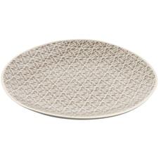 Murmur Stoneware Salad/Dessert Plate Grey