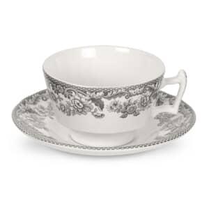 Spode Delamere Rural Tea Cup And Saucer