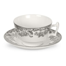 Spode Delamere Rural Tea Cup And Saucer