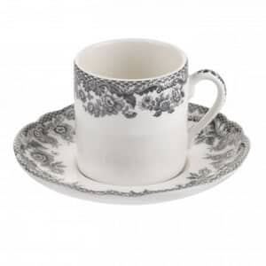Spode Delamere Rural Coffee Cup and Saucer