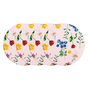 Maxwell and Williams Teas and Cs Contessa Pack Of 4 Coasters Rose