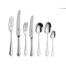 Arthur Price Dubarry 25 Year Silver Plate Fish Fork