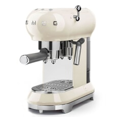 Smeg Espresso Coffee Machine Cream