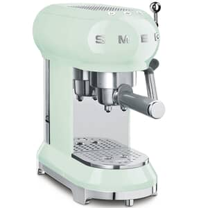 Smeg Espresso Coffee Machine Pastel Green