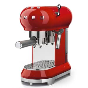 Smeg Espresso Coffee Machine Red