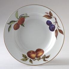 Royal Worcester Evesham Gold Rim Bowl 23cm
