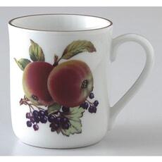 Royal Worcester Evesham Gold Mug Apple and Blackcurrant