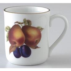 Royal Worcester Evesham Gold Mug Pear and Damson