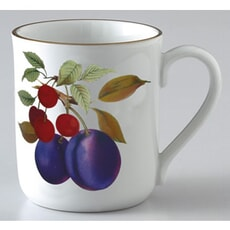 Royal Worcester Evesham Gold Mug Plum and Cherry