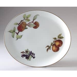 Royal Worcester Evesham Gold Oval Platter