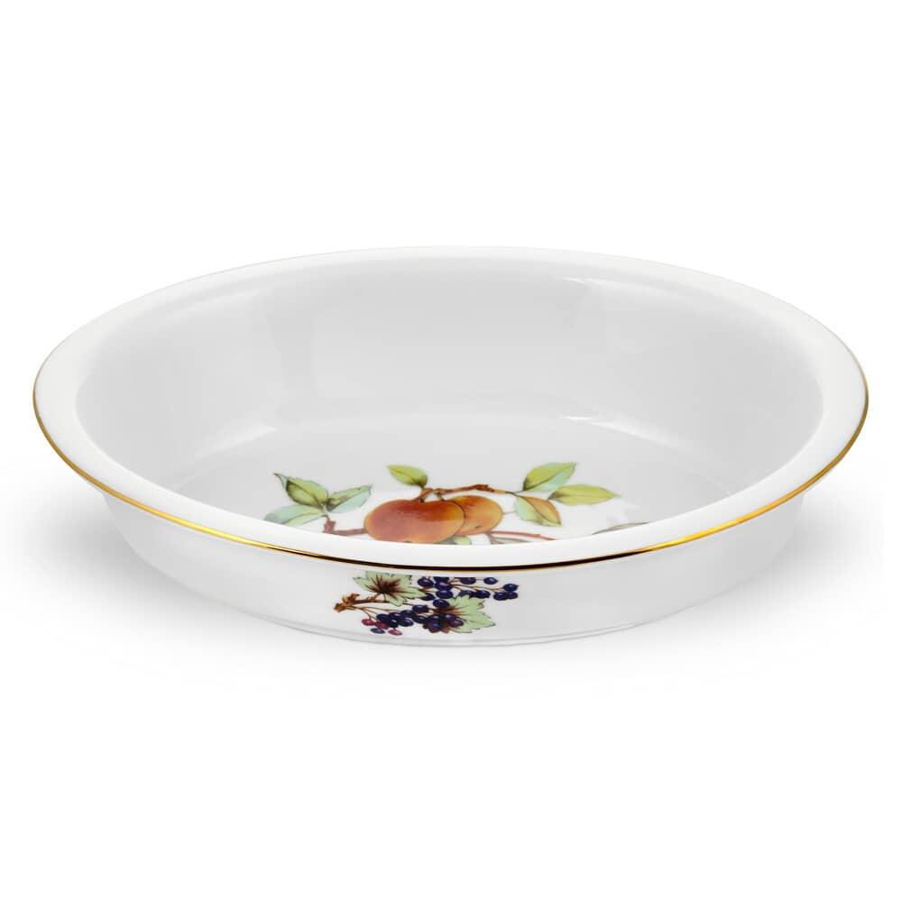 Royal Worcester Evesham Gold Oval Dish Evg5490x Ecookshop