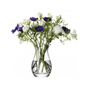 LSA Glassware - Flower Posy Vase Clear