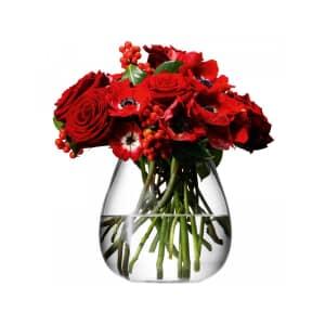 LSA Glassware - Flower Table Bouquet Vase Clear