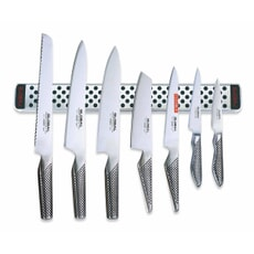 Global 8 Piece Knife Set With Magnetic Rack