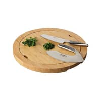 Global Cutting And Dicing Set With Reversible Board