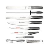 Global GCH6610 10 Piece Knife Case Set