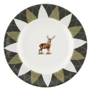 Spode Glen Lodge Tea Plate Stag
