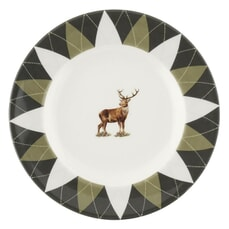 Spode Glen Lodge Tea Plate Stag