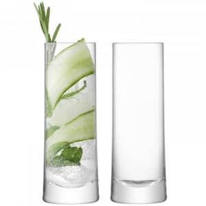 LSA Glassware - Gin Highball Glasses Set Of 2