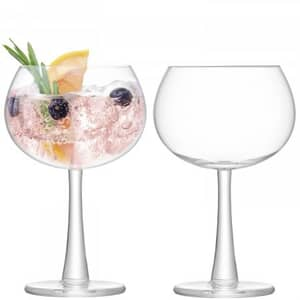 LSA Glassware - Gin Balloon Glasses Set Of 2