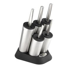 Global NI Cylinder 6 Piece Knife Block Set