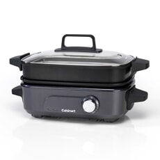 Cuisinart Cook In, 5 in 1 Multi Cooker, Grill, Sear, Steam, Simmer and Cook