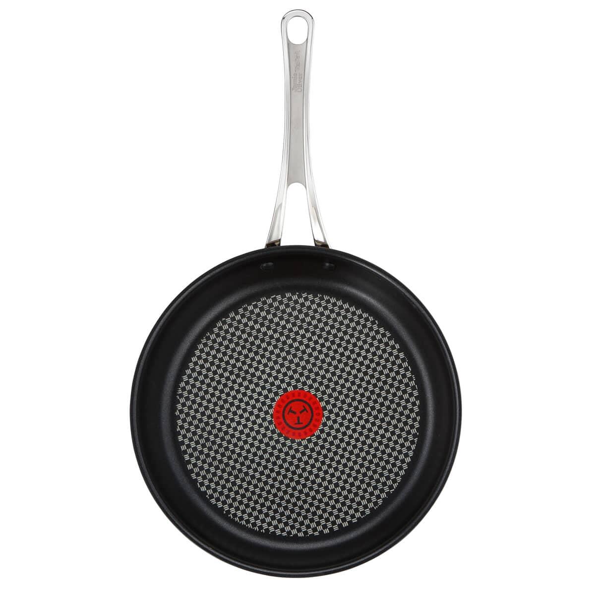 Tefal Jamie Oliver S Steel Premium 28cm Frypan H8030644