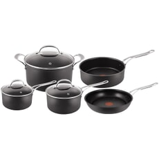 Tefal Jamie Oliver Hard Anodised Induction 5 Piece Set