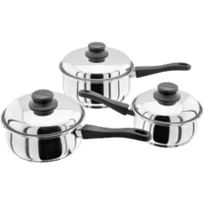 Judge Essentials 3 Piece Saucepan Set