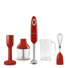 Smeg Hand Blender 50s Retro Style Red With Accessories