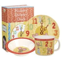 Churchill Little Rhymes - Hickory Dickory Dock 3 Piece Melamine Set
