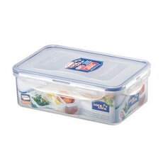 Lock and Lock Rect (3 Compartments) 1ltr