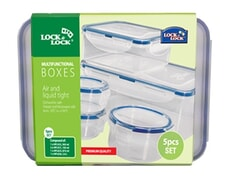 Lock and Lock 5 Piece Multi-Functional Set