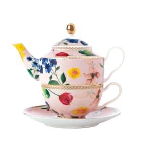 Maxwell and Williams Teas and Cs Contessa 380ml Tea For One Rose