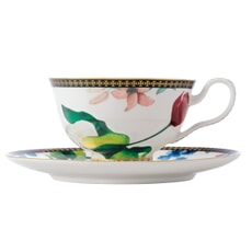 Maxwell and Williams Teas and Cs Contessa 200ml Footed Cup And Saucer White
